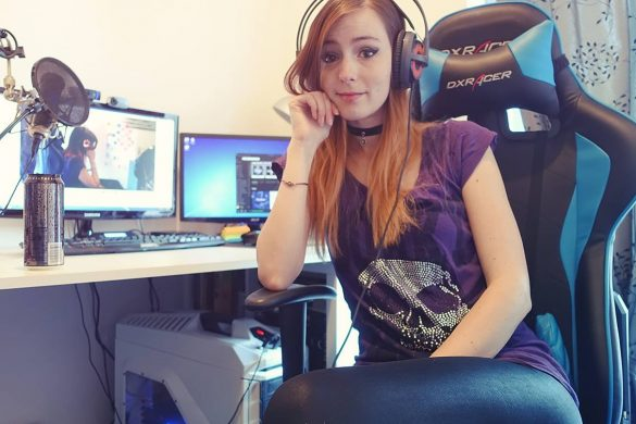 Roos Roosj twitch streamer Girl Gamer Galaxy