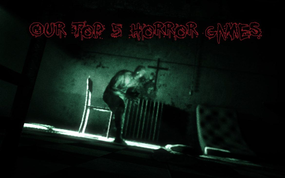Top 5 Horror games Girl Gamer Galaxy oultast untildawm deadspace