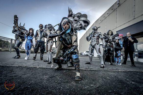 sakuraflor blizzcon 2016 girl gamer galaxy cosplay Blizzard