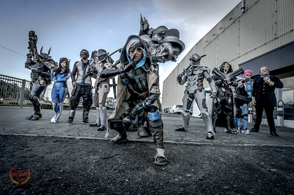 sakuraflor blizzcon 2016 girl gamer galaxy cosplay Blizzard