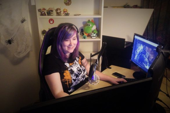 debby-kauw-streamer-twitch-clumsywolfy-set-up Girl Gamer Galaxy