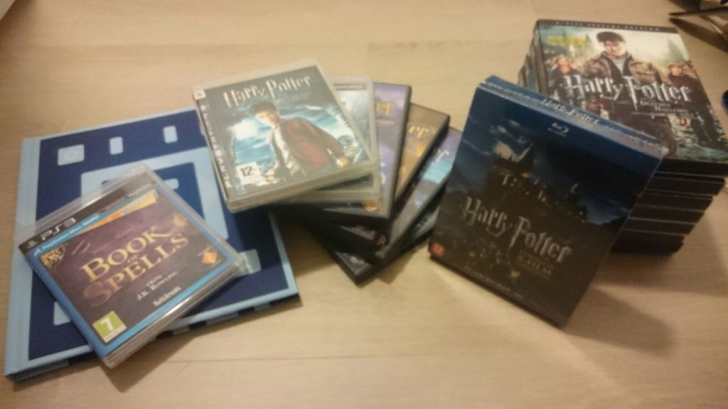 Harry Potter Fantastic Beast geek girl gamer