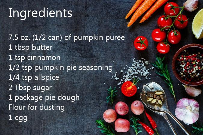 Harry Potter Pumpkin pasties recipe geek xmas christmas dinner