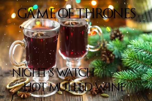 Game of thrones hot mulled wine christmas xmas dinner geek game girl gamer