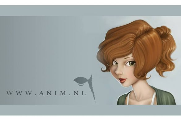 Amin 2D and 3D artist Nanda van Dijk Girls in Gaming Animation designer animation portfolio