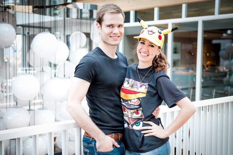 Sakuraflor & Karel Geek Couple