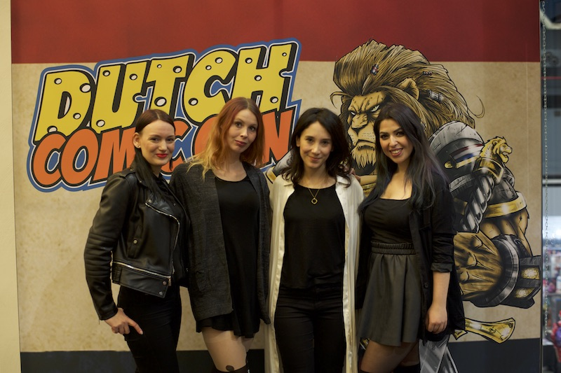 Dutch Xmas Con Sibel Kekilli girl gamer galaxyy game of thrones actress shae