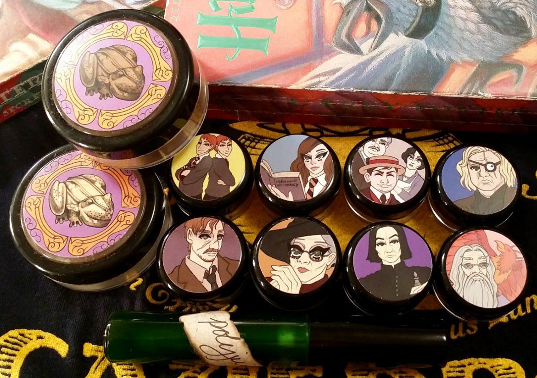 girlgamer make-up, nerdy geek harry potter shiro cosmetics