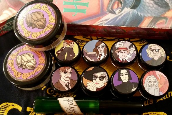 girlgamer make-up, nerdy geek harry potter shiro cosmetics