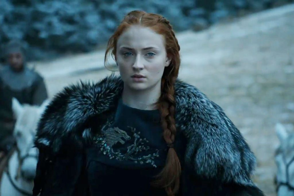 Sansa Stark winter fashion look got game of thrones girls girl gamer
