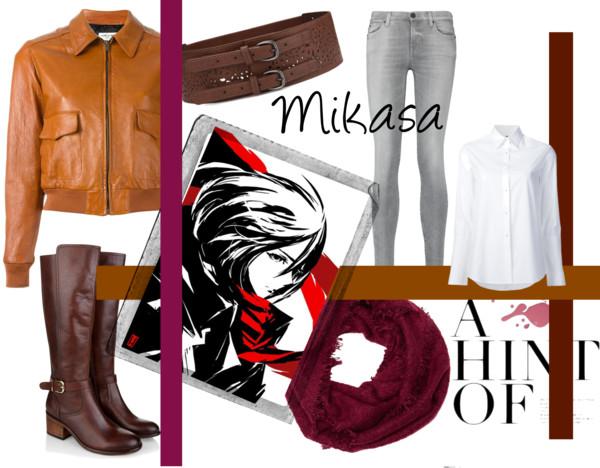 mikasa ackerman style dress like girl gamer girlgamer female gamers women woman
