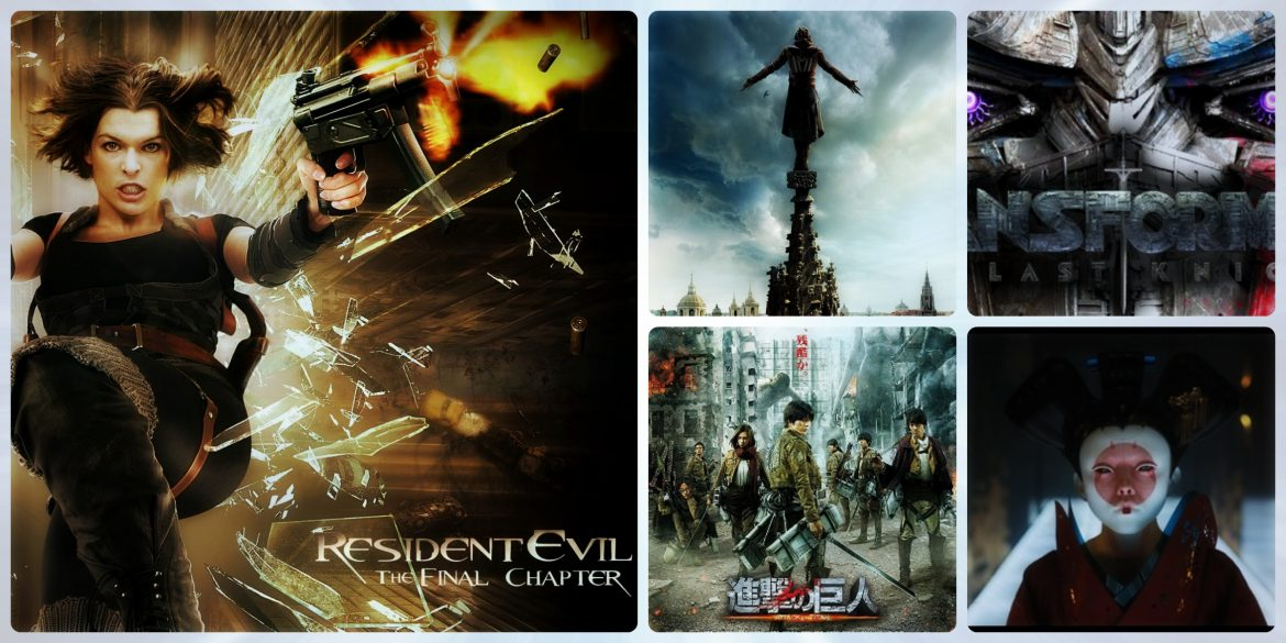 Live Action Movies based on Anime or Games ghost in in the shell Assassin's Creed transformers attack on Titan