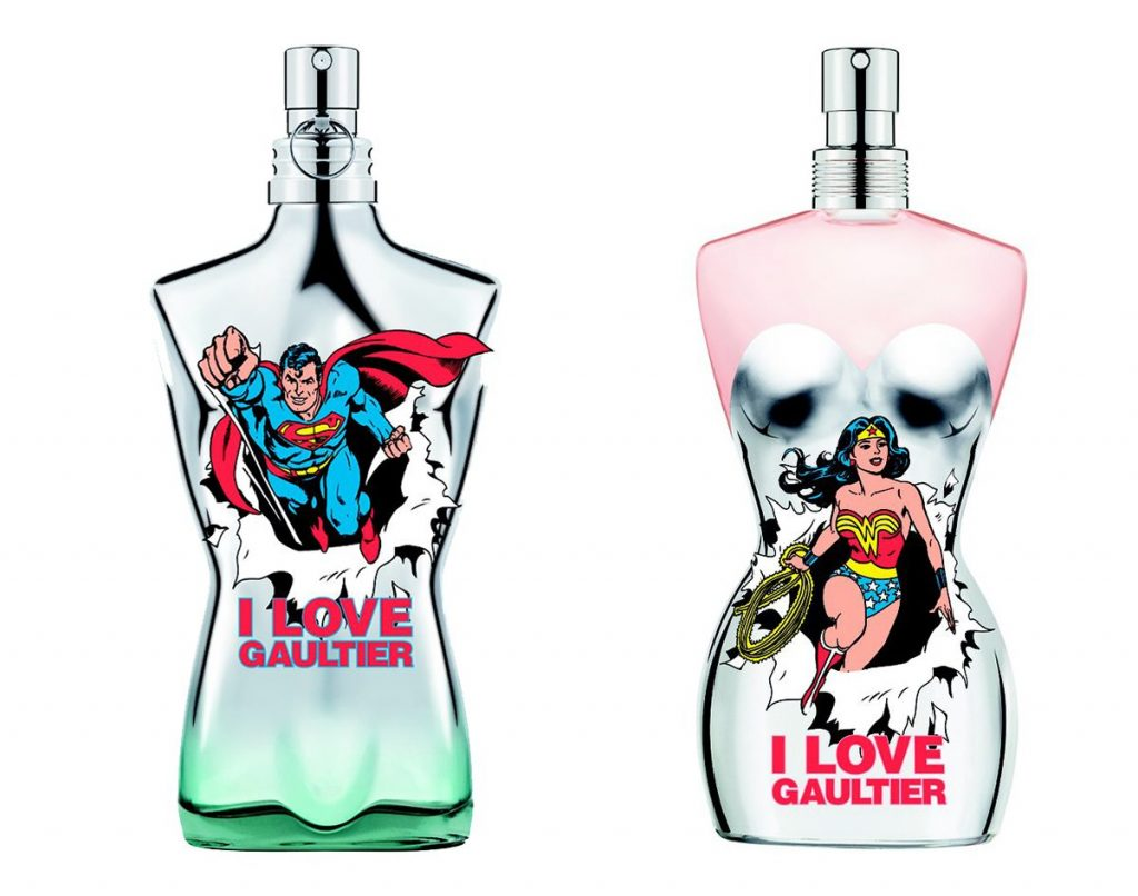 Jean Paul Gaultier Wonder Woman Eau Fraiche Le Male Superman Eau Fraiche Girl Gamer Galaxy perfume nerd geek musthaves