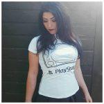 geeky t-shirts Playstation Girl Gamer Galaxy vs Dirtees t-shirts geeky fasion girlgamer gamergirl female gamer