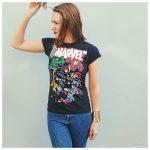 geeky t-shirts Marvel Girl Gamer Galaxy vs Dirtees t-shirts geeky fasion girlgamer gamergirl female gamer