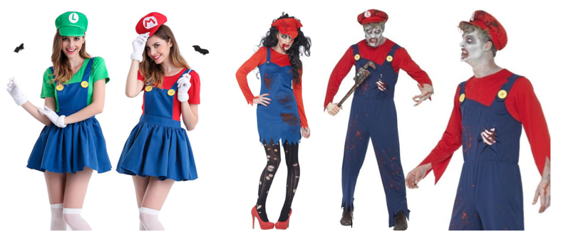 halloween vibe zombie mario girlgamergalaxy