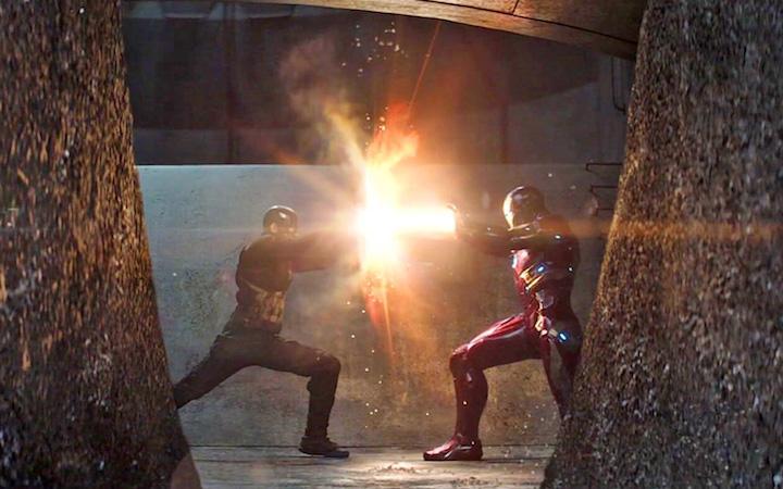 Avengers Iron Man vs. Captain America